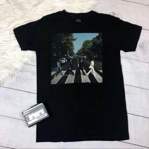 The Beatles Abby Road Band Tee Shirt Medium Black